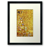 Gustav Klimt - Expectation Framed Print