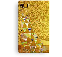 Gustav Klimt - Expectation Canvas Print