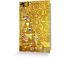 Gustav Klimt - Expectation Greeting Card