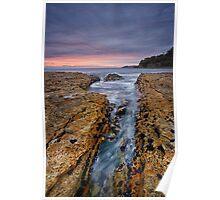 Blackmans Bay Rocks Sunrise #11 Poster