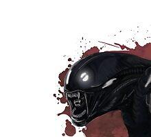 Alien Ridley Scott Horror Movie by reanimated13