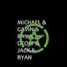 Achievement Hunter Names by emziiz