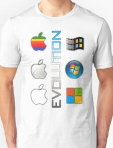 Mac and PC's Evolution T-Shirt