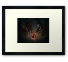 Halloween Party Framed Print