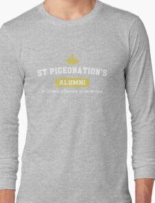Hatoful Boyfriend St. Pigeonation's Alumni Shirt Long Sleeve T-Shirt