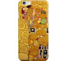Gustav Klimt - Fulfilment iPhone Case/Skin