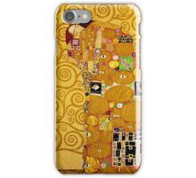 Gustav Klimt - Fulfilment iPhone Case/Skin