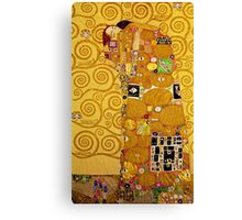 Gustav Klimt - Fulfilment Canvas Print