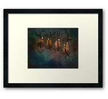 Cello Trees Framed Print