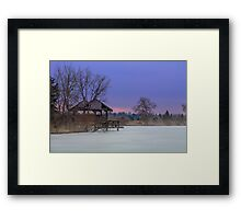 Frozen Dreams Framed Print