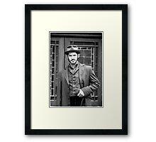 Captain Jackson Framed Print