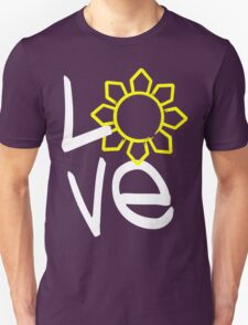 LOVE Philippines Sun by AiReal Apparel Unisex T-Shirt