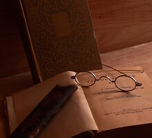 Books and Reading Spectacles by Robert Armendariz