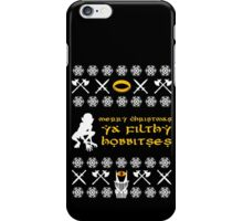 Merry Christmas, Ya Filthy Hobbitses iPhone Case/Skin
