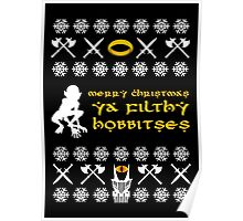 Merry Christmas, Ya Filthy Hobbitses Poster