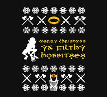 Merry Christmas, Ya Filthy Hobbitses Unisex T-Shirt