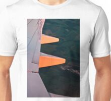 Sun painting the wing red Unisex T-Shirt
