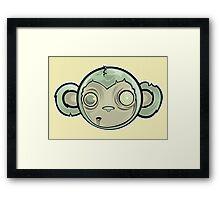 That Zombie Monkey Tho Framed Print