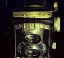 Weltaflex TLR Camera Sticker