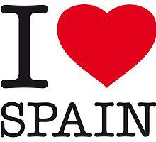 I ♥ SPAIN by eyesblau