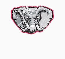 Distressed University of Alabama Crimson Tide Elephant Logo Unisex T-Shirt
