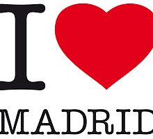 I ♥ MADRID by eyesblau