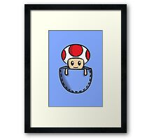 Pocket Toad Framed Print