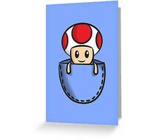 Pocket Toad Greeting Card