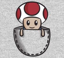 Pocket Toad Baby Tee