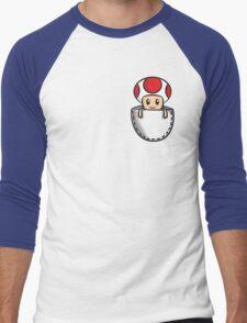 Pocket Toad Men's Baseball ¾ T-Shirt