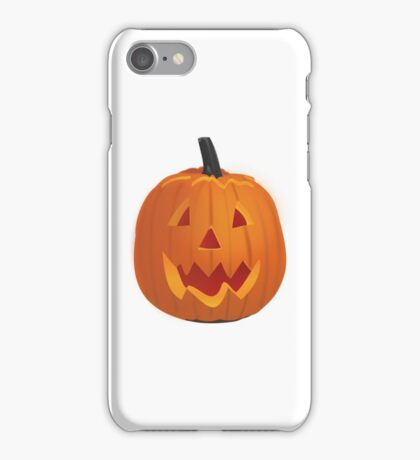 Spooky Jack o' Lantern iPhone Case/Skin