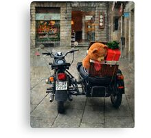This is the moment of presents Canvas Print