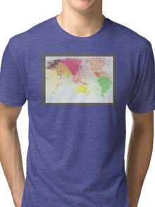 Our world - Our home Tri-blend T-Shirt