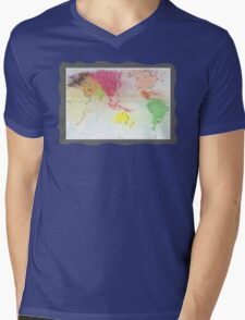 Our world - Our home Mens V-Neck T-Shirt