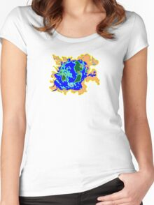 World Watersheds  Women's Fitted Scoop T-Shirt