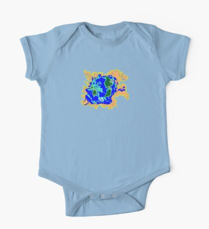 World Watersheds  One Piece - Short Sleeve
