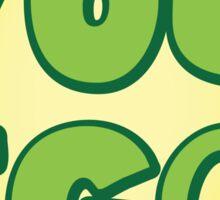 You EGG! with cracked egg NEW ZEALAND KIWI funny design Sticker