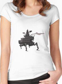 Surveillance Mech Women's Fitted Scoop T-Shirt