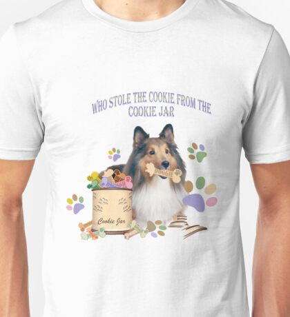 who stole the cookies from the cookie jar? Unisex T-Shirt