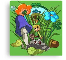 Legend of Zelda: Minish Cap Canvas Print