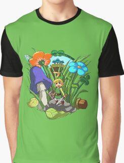 Legend of Zelda: Minish Cap Graphic T-Shirt