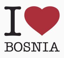 I ♥ BOSNIA Kids Clothes