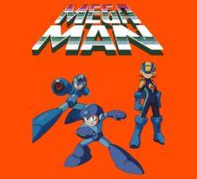 Megaman Evolution  Kids Tee