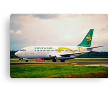Eastwind Airlines Boeing 737-200 Canvas Print