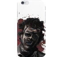 Leatherface Texas Chainsaw Massacre iPhone Case/Skin