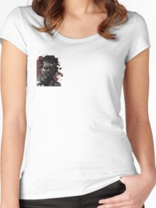 Leatherface Texas Chainsaw Massacre Women's Fitted Scoop T-Shirt