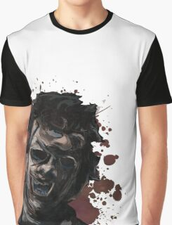 Leatherface Texas Chainsaw Massacre Graphic T-Shirt