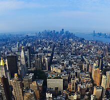 New York, Manhattan by mykhalchevskyy