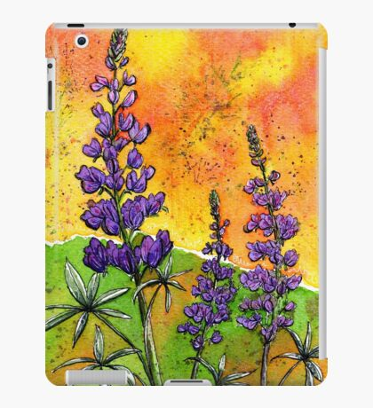 Lupin Flowers iPad Case/Skin