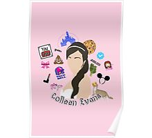 Colleen Ballinger Evans Collage Poster
